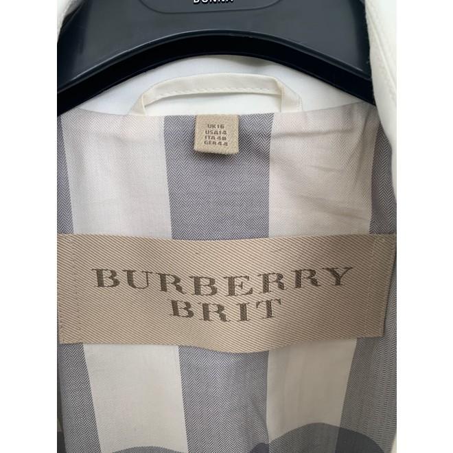 tweedehands Burberry Jas
