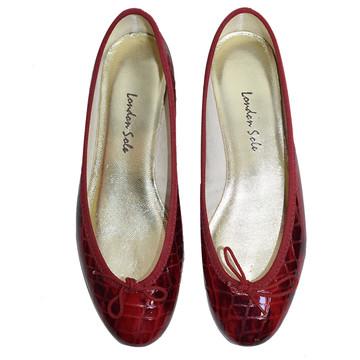 Tweedehands London Sole Platte schoenen