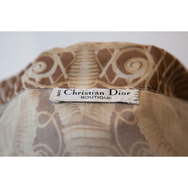 tweedehands Christian Dior Blouse