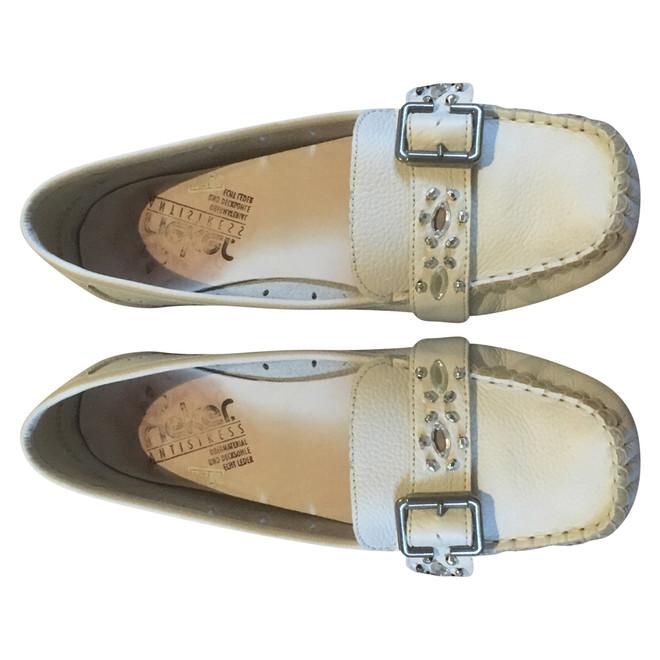 tweedehands Rieker Platte schoenen