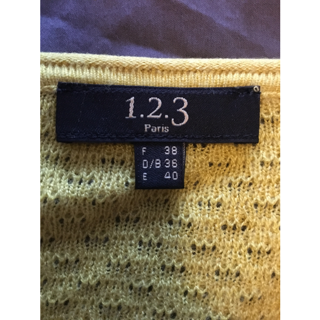 tweedehands 1.2.3. Paris Sweater