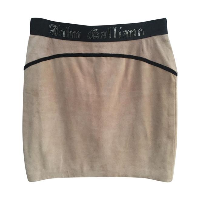 tweedehands John Galliano Rok