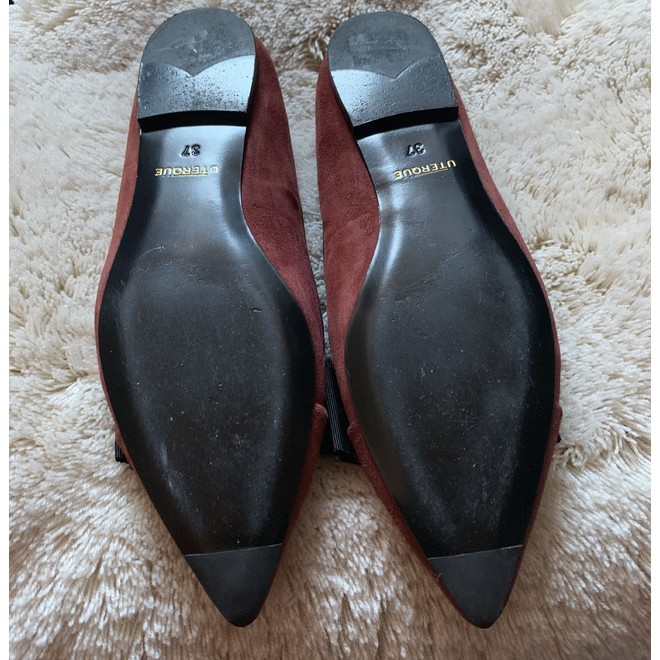 tweedehands Uterqüe Platte schoenen