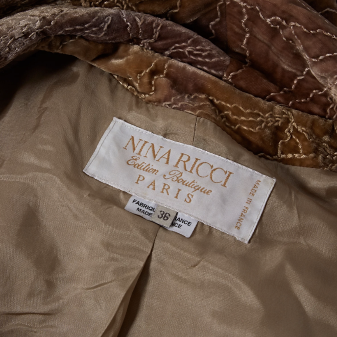 tweedehands Nina Ricci Coat