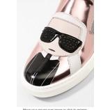 tweedehands Karl Lagerfeld Platte schoenen