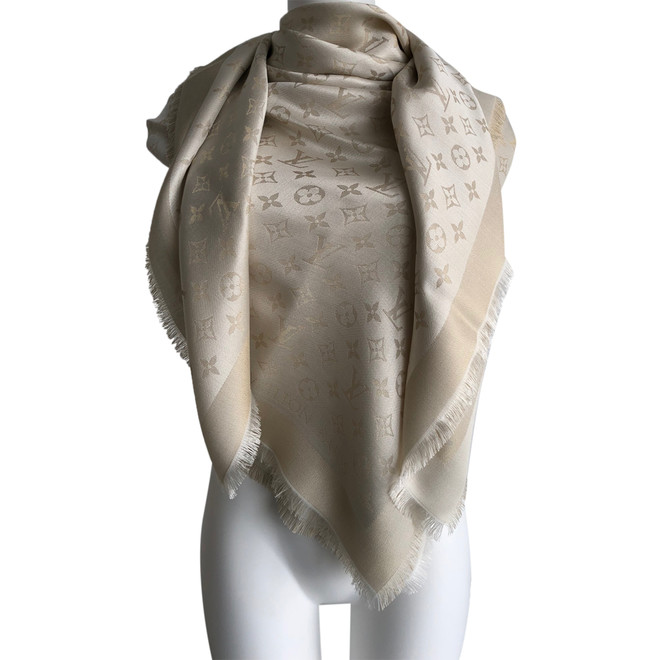 tweedehands Louis Vuitton Sjaal