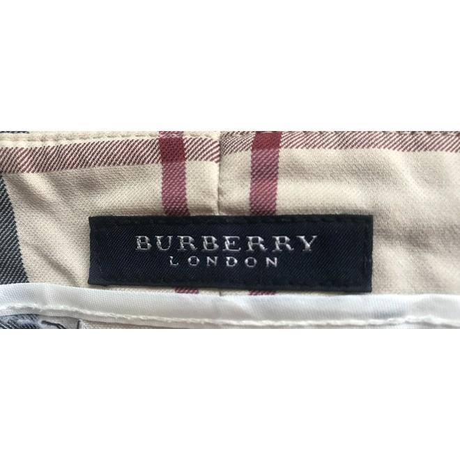 tweedehands Burberry Broek