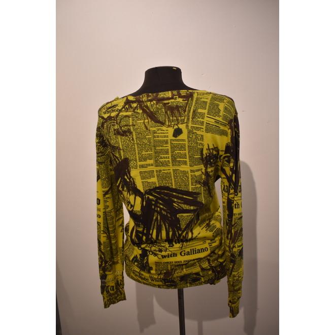 tweedehands John Galliano Vest