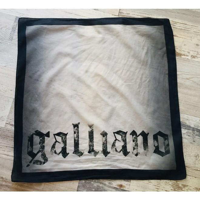 tweedehands John Galliano Sjaal