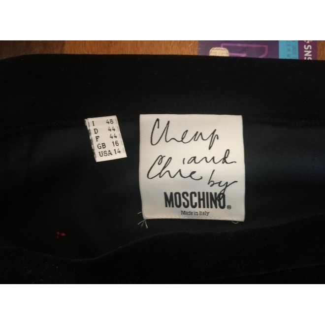 tweedehands Moschino Mini skirt