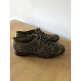 tweedehands Vintage Platte schoenen