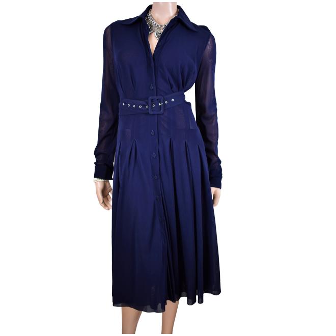 tweedehands Fuzzi Midi dress