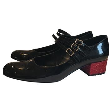 Tweedehands Saint Laurent Paris Platte schoenen
