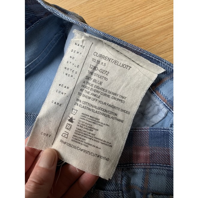 tweedehands Current/Elliot Jeans