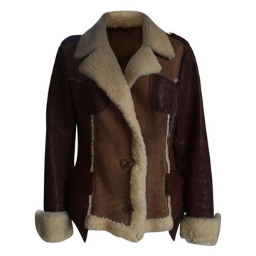 Tweedehands Shearling Jas