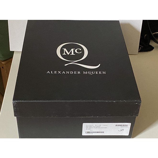 tweedehands Alexander McQueen Enkellaarzen