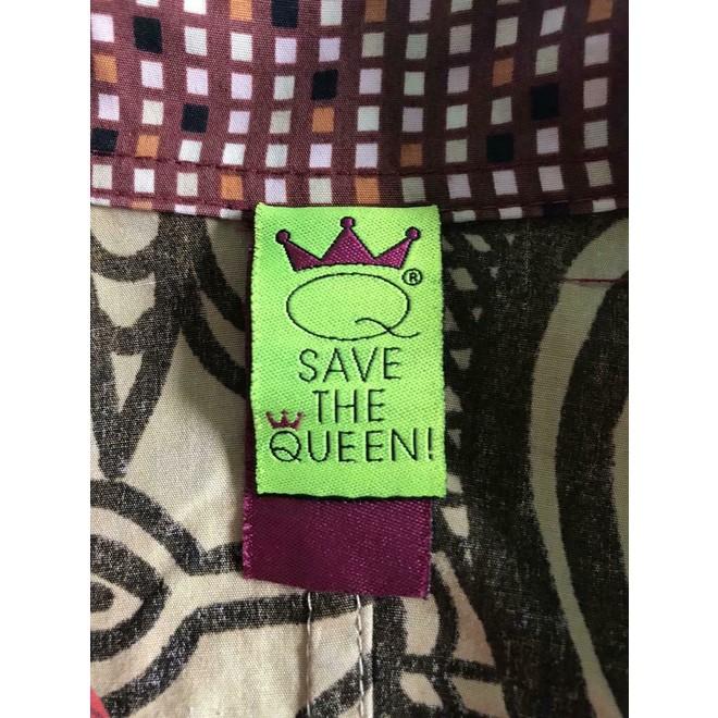 tweedehands Save the Queen Blouse