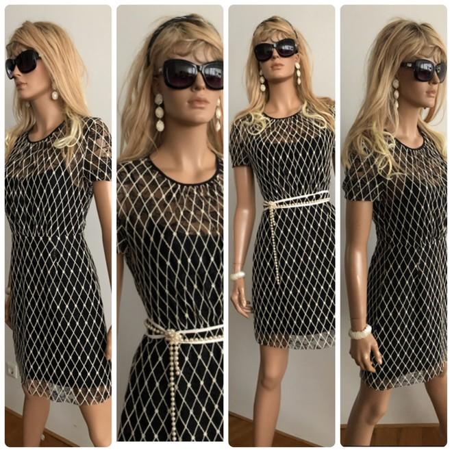 tweedehands Sandro Midi jurk