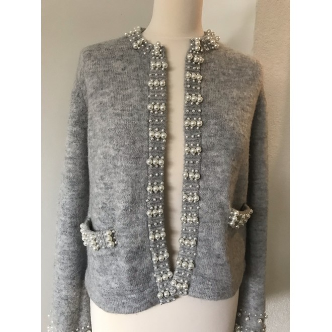 tweedehands Maje Cardigan