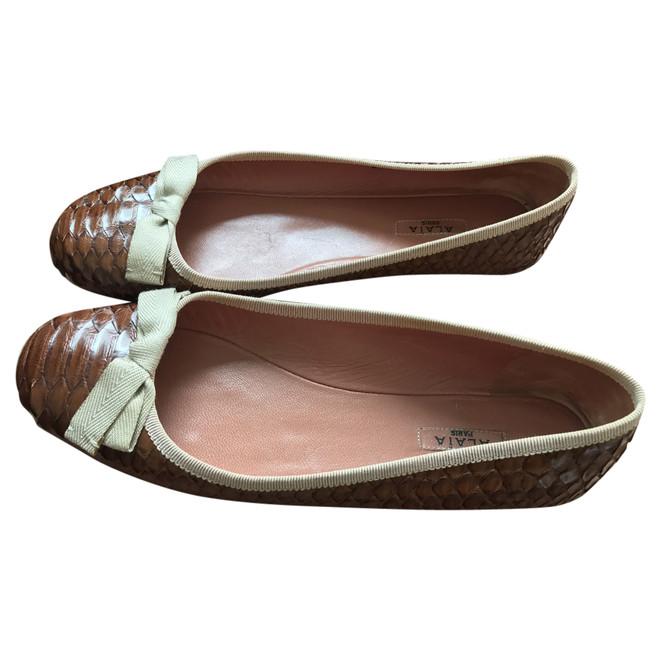 tweedehands Alaïa Paris Platte schoenen