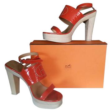 Tweedehands Hermès Paris Sandalen