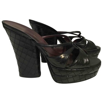 Tweedehands Chanel Sandalen