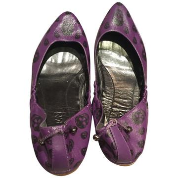 Tweedehands Alexander McQueen Platte schoenen