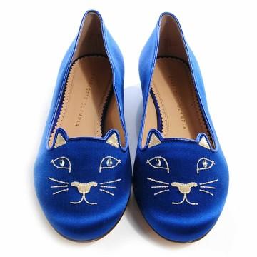 Tweedehands Charlotte Olympia  Platte schoenen