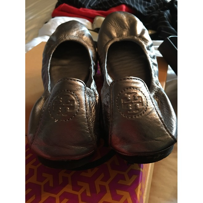 tweedehands Tory Burch Flache Schuhe