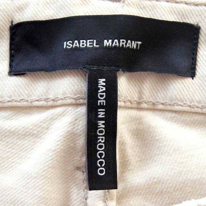 tweedehands Isabel Marant Broek